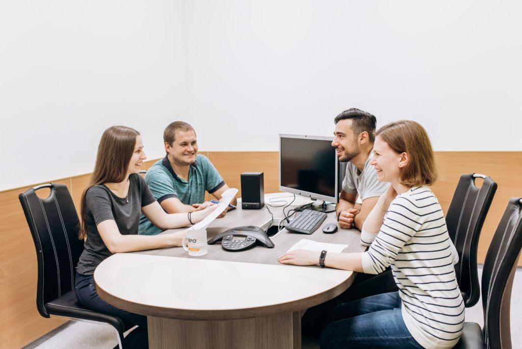 BPO Nextdoor friendly work environment